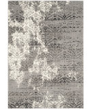 RugStudio presents Safavieh Evoke Evk490c Cream - Dark Grey Machine Woven, Good Quality Area Rug