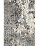 RugStudio presents Safavieh Evoke Evk490d Grey - Blue Machine Woven, Good Quality Area Rug