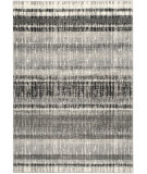 RugStudio presents Safavieh Evoke Evk494c Cream - Dark Grey Machine Woven, Good Quality Area Rug