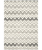 RugStudio presents Safavieh Evoke Evk498c Cream - Dark Grey Machine Woven, Good Quality Area Rug