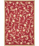 RugStudio presents Safavieh Durarug Ezc415a Red / Gold Hand-Hooked Area Rug