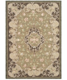 RugStudio presents Safavieh Durarug Ezc434c Beige / Brown Hand-Hooked Area Rug