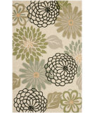 RugStudio presents Safavieh Four Seasons Frs224a Beige / Green Hand-Hooked Area Rug