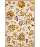 RugStudio presents Safavieh Four Seasons Frs413b Ivory / Yellow Hand-Hooked Area Rug