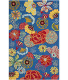 RugStudio presents Safavieh Four Seasons Frs470a Blue / Red Hand-Hooked Area Rug