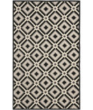 RugStudio presents Rugstudio Sample Sale 94444R Black / Grey Hand-Hooked Area Rug