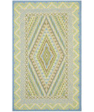 RugStudio presents Safavieh Four Seasons FRS490H Blue / Yellow Area Rug