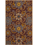 RugStudio presents Safavieh Four Seasons Frs513b Burgundy Hand-Hooked Area Rug
