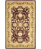 RugStudio presents Safavieh Heritage Hg261c Red / Gold Hand-Tufted, Better Quality Area Rug