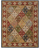 RugStudio presents Safavieh Heritage HG316B Green / Red Hand-Tufted, Good Quality Area Rug