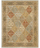 RugStudio presents Safavieh Heritage HG316C Light Blue / Light Brown Hand-Tufted, Good Quality Area Rug