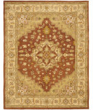 RugStudio presents Safavieh Heritage Hg345a Rust / Gold Hand-Tufted, Better Quality Area Rug
