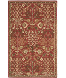 RugStudio presents Safavieh Heritage Hg421a Red / Green Hand-Tufted, Better Quality Area Rug
