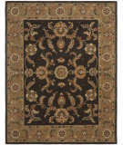 RugStudio presents Safavieh Heritage HG471B Brown / Gold Hand-Tufted, Good Quality Area Rug