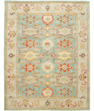 RugStudio presents Safavieh Heritage Hg734a Light Blue / Ivory Hand-Tufted, Good Quality Area Rug