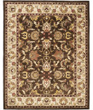 RugStudio presents Safavieh Heritage Hg818a Brown / Beige Hand-Tufted, Better Quality Area Rug