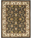RugStudio presents Safavieh Heritage Hg819a Black / Ivory Hand-Tufted, Better Quality Area Rug
