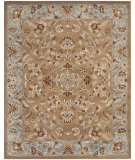 RugStudio presents Safavieh Heritage HG821A Beige / Blue Hand-Tufted, Good Quality Area Rug