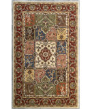 RugStudio presents Safavieh Heritage Hg925a Multi / Red Hand-Tufted, Better Quality Area Rug