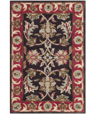 RugStudio presents Safavieh Heritage Hg951a Chocolate / Red Hand-Tufted, Better Quality Area Rug
