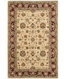 RugStudio presents Safavieh Heritage Hg965a Ivory / Red Hand-Tufted, Better Quality Area Rug