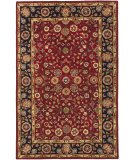 RugStudio presents Rugstudio Sample Sale 61281R Red / Navy Hand-Tufted, Better Quality Area Rug