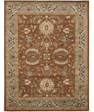 RugStudio presents Safavieh Heritage Hg968a Brown / Blue Hand-Tufted, Better Quality Area Rug