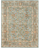 RugStudio presents Safavieh Heritage Hg969a Blue / Blue Hand-Tufted, Good Quality Area Rug