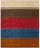 RugStudio presents Safavieh Himalaya HIM581A Orange / Multi Hand-Knotted, Good Quality Area Rug