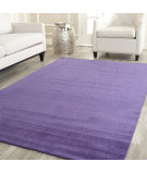 RugStudio presents Safavieh Himalaya HIM610B Purple Hand-Knotted, Good Quality Area Rug