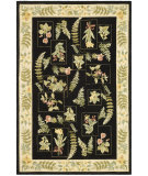 RugStudio presents Safavieh Chelsea HK07B Black Hand-Hooked Area Rug