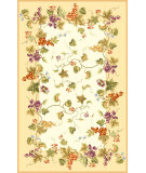 RugStudio presents Rugstudio Sample Sale 46346R Ivory Hand-Hooked Area Rug