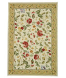 RugStudio presents Rugstudio Sample Sale 49884R Ivory / Beige Hand-Hooked Area Rug