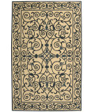 RugStudio presents Safavieh Chelsea HK11I Ivory / Dark Blue Hand-Hooked Area Rug
