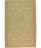 RugStudio presents Rugstudio Sample Sale 46351R Light Blue Hand-Hooked Area Rug