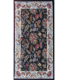 RugStudio presents Safavieh Chelsea HK141B Black Hand-Hooked Area Rug