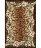 RugStudio presents Safavieh Chelsea Hk173a Beige / Brown Hand-Hooked Area Rug