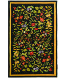 RugStudio presents Safavieh Chelsea HK210B Black Hand-Hooked Area Rug