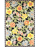 RugStudio presents Safavieh Chelsea HK214B Black Hand-Hooked Area Rug