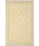 RugStudio presents Safavieh Chelsea Hk230y Yellow / Grey Hand-Hooked Area Rug
