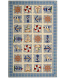RugStudio presents Rugstudio Sample Sale 46379R Ivory Hand-Hooked Area Rug