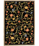 RugStudio presents Safavieh Chelsea HK248B Black Hand-Hooked Area Rug