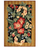 RugStudio presents Safavieh Chelsea HK301A Black / Brown Hand-Hooked Area Rug