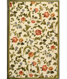 RugStudio presents Rugstudio Sample Sale 49967R Ivory Hand-Hooked Area Rug