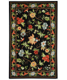 RugStudio presents Rugstudio Sample Sale 46409R Black Hand-Hooked Area Rug