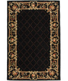 RugStudio presents Rugstudio Sample Sale 46416R Black Hand-Hooked Area Rug