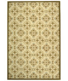 RugStudio presents Safavieh Chelsea Hk376a Ivory / Green Hand-Hooked Area Rug