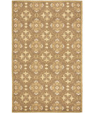 RugStudio presents Safavieh Chelsea Hk376c Brown / Green Hand-Hooked Area Rug