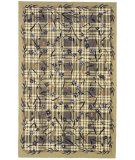 RugStudio presents Rugstudio Sample Sale 49977R Green Hand-Hooked Area Rug