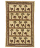 RugStudio presents Safavieh Chelsea HK42A Camel / Ivory Hand-Hooked Area Rug